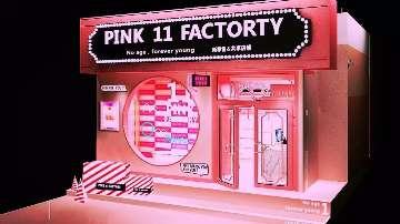 PINK  11  FACTORY 美妆集合网红打卡直播店